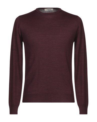 Купить Мужской свитер SIGNS красно-коричневого цвета