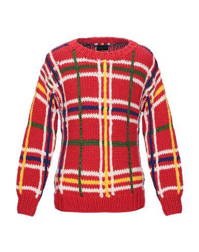 Фото - Мужской свитер ROBERTO COLLINA красного цвета