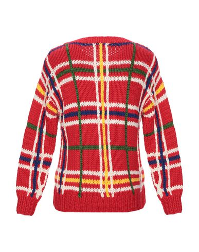 Фото 2 - Мужской свитер ROBERTO COLLINA красного цвета