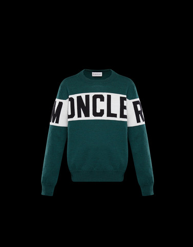 CREWNECK Emerald green Kids 4-6 Years - Boy