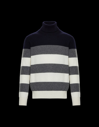HIGH NECK Ivory Knitwear & Sweatshirts Man