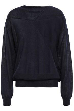 JIL SANDER Cashmere and silk-blend sweater