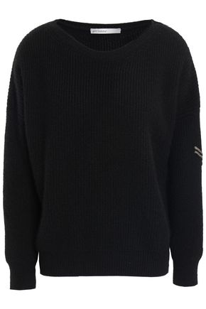 GENTRYPORTOFINO Embroidered cashmere sweater