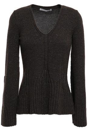 GENTRYPORTOFINO Marled cashmere sweater