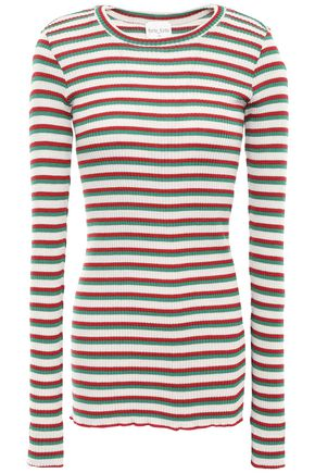 FORTE_FORTE Ribbed wool-blend top