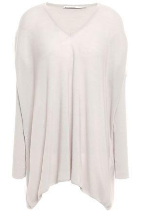 GENTRYPORTOFINO Asymmetric cashmere sweater