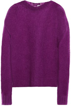 FORTE_FORTE Open-knit mohair-blend sweater