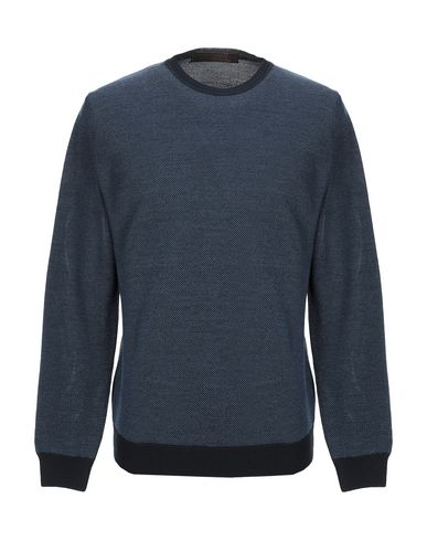 Фото - Мужской свитер LABORATORI ITALIANI синего цвета