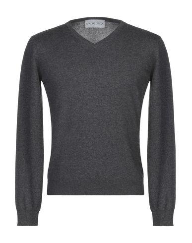 Фото - Мужской свитер SPADALONGA серого цвета