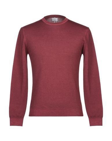 Купить Мужской свитер  красно-коричневого цвета