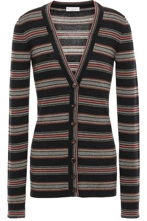 BRUNELLO CUCINELLI Wool and cashmere-blend cardigan