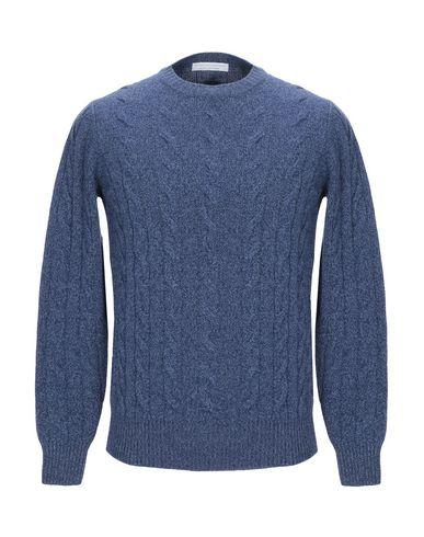 Купить Мужской свитер FILIPPO DE LAURENTIIS синего цвета