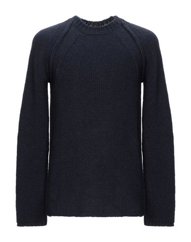 Фото - Мужской свитер ROBERTO COLLINA темно-синего цвета