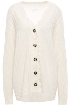 HELMUT LANG Ribbed-knit cardigan