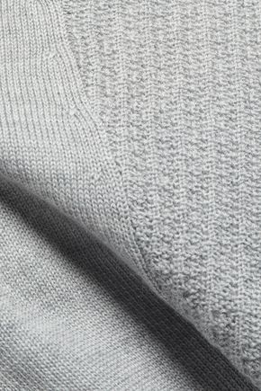 DUFFY パネル加工 メリノウール セーター