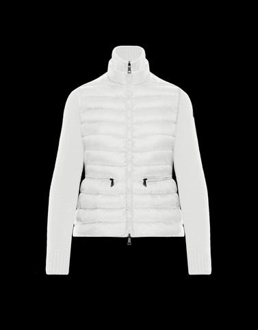 Lined jumper White Category Lined jumpers Woman