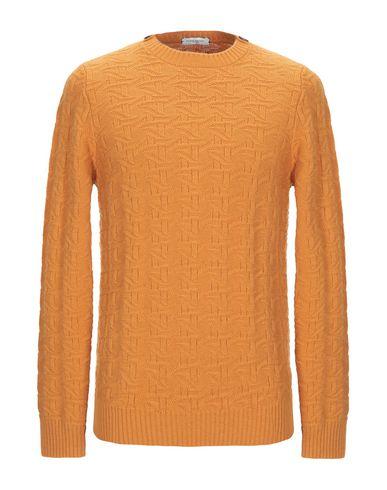 Купить Мужской свитер PAOLO PECORA цвет охра