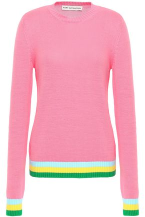 MARY KATRANTZOU Intarsia cotton sweater