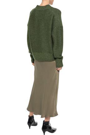 IRIS & INK Tait mélange wool sweater