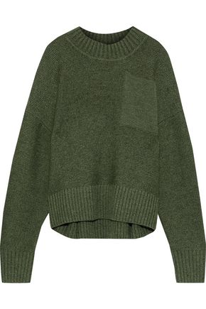 IRIS & INK Tait textured-wool sweater