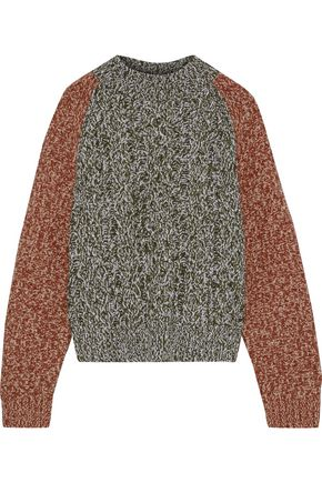 IRIS & INK Jens marled wool sweater