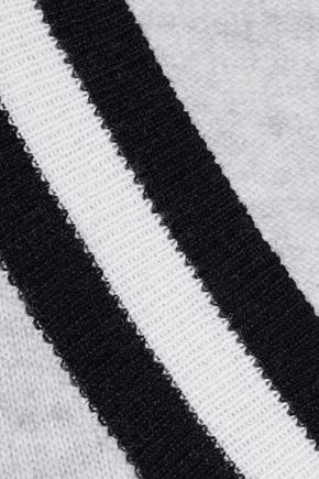 IRIS & INK メランジカシミヤ セーター