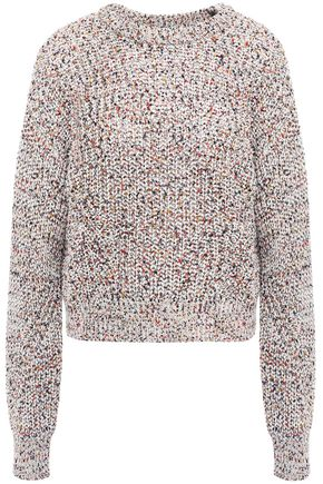 VERONICA BEARD Ryce open-knit cotton sweater