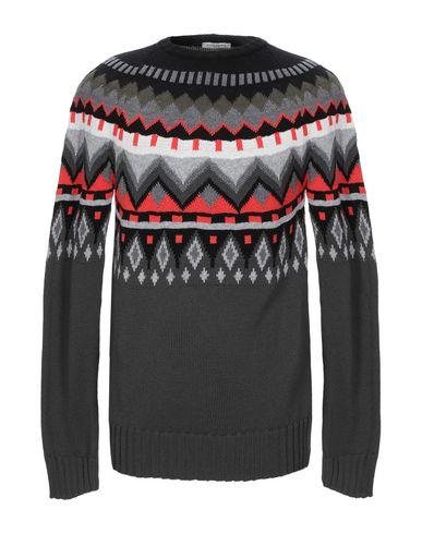Купить Мужской свитер PAOLO PECORA серого цвета
