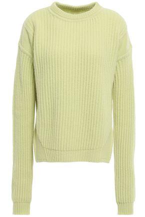 RICK OWENS Fisherman ribbed wool sweater