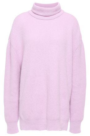 NANUSHKA Angora-blend turtleneck sweater