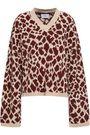 NANUSHKA Jamel jacquard-knit sweater
