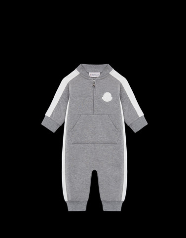 ROMPERS Grey Baby 0-36 months - Boy