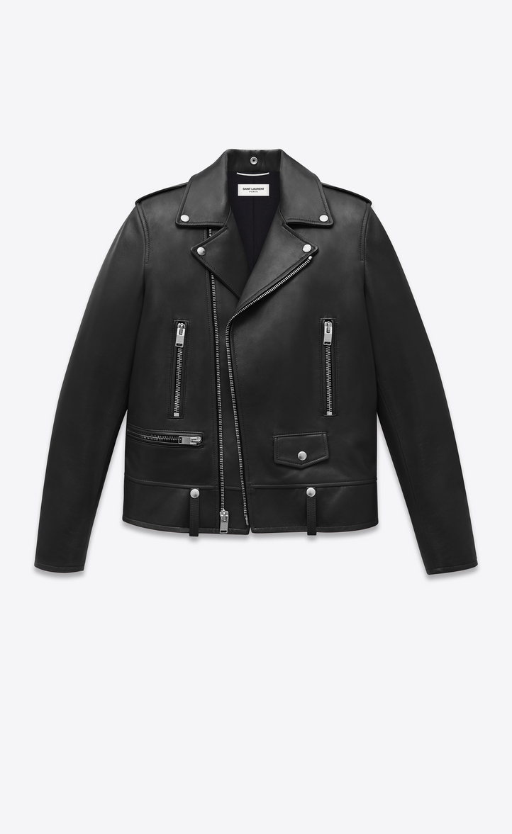 saint laurent saint laurent motorcycle jacket in lambskin ysl com