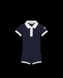 MONCLER POLO WITH SHORTS - Polo Shirt with Shorts - men