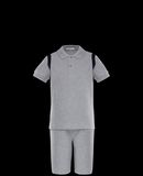 MONCLER SET - Polo Shirt with Shorts - men