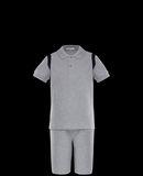 MONCLER SET - Polo Shirt with Shorts - men