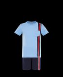 MONCLER SET - T-shirts with shorts - men
