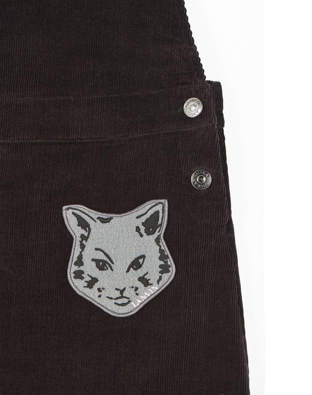 CAT PATCH OVERALLS - Lanvin