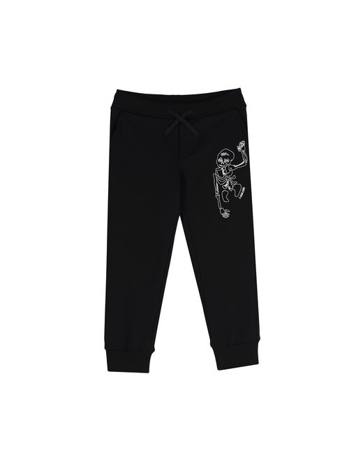 BLACK SKELETON JOGGING PANTS - Lanvin