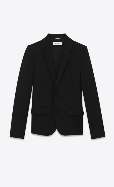 Saint Laurent gabardine tuxedo jacket