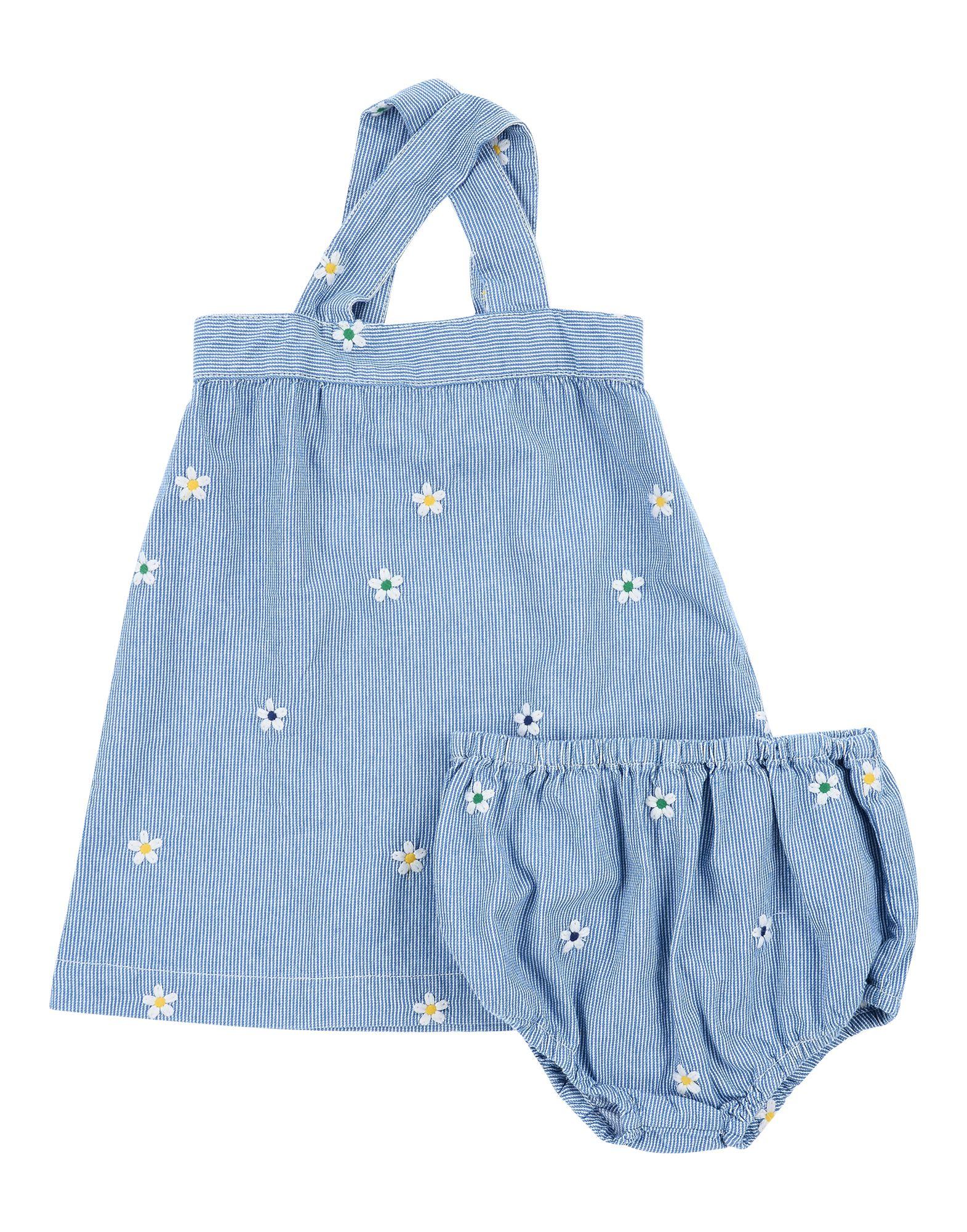《セール開催中》STELLA McCARTNEY KIDS ガールズ 3-8 歳 ワンピース&ドレス ブルー 3 コットン 100%