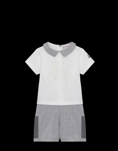 Moncler Baby 0-36 months - Boy Unisex: POLO WITH SHORTS