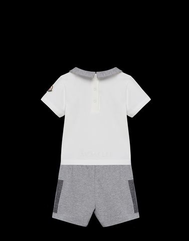 Moncler Baby 0-36 months - Girl Unisex: POLO WITH SHORTS