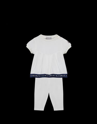 MONCLER T-SHIRT WITH LEGGINGS - Outfits with trousers - women