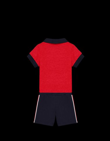 Moncler Baby 0-36 months - Boy Man: POLO WITH SHORTS