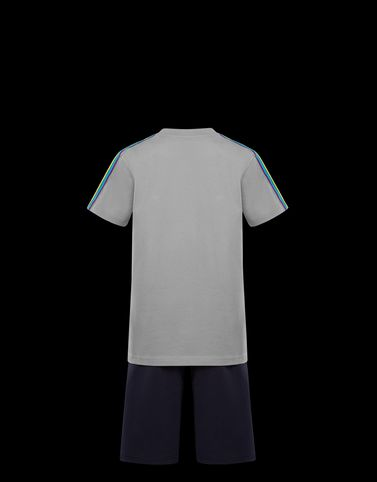 Moncler Teen 12-14 years - Boy Man: T-SHIRT WITH SHORTS