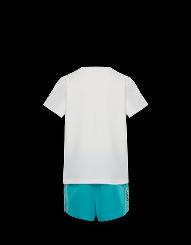 Moncler Junior 8-10 Years - Girl Woman: T-SHIRT WITH SHORTS