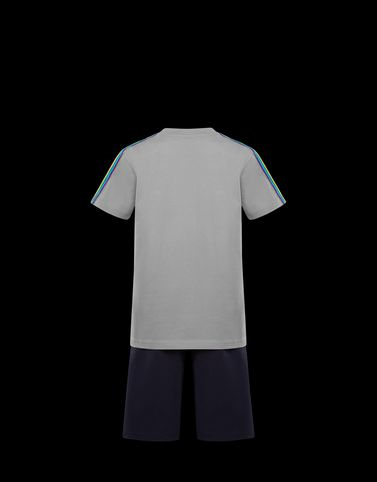 Moncler Junior 8-10 Years - Boy Man: T-SHIRT WITH SHORTS