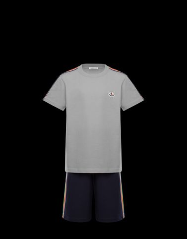 Moncler Kids 4-6 Years - Boy Man: T-SHIRT WITH SHORTS