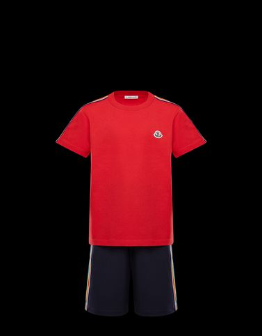 MONCLER T-SHIRT WITH SHORTS - T-shirts with shorts - men